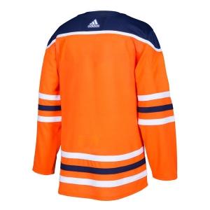 Edmonton Oilers nhl adidas authentic хоккейный свитер оранжевый