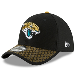 Jacksonville Jaguars nfl new era flex london game спортивная бейсболка черная