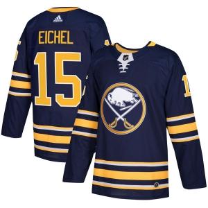 Jack Eichel Buffalo Sabres nhl adidas authentic хоккейный свитер темно-синий