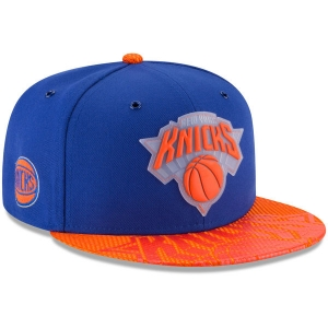 New York Knicks nba new era snapback on-court спортивная кепка
