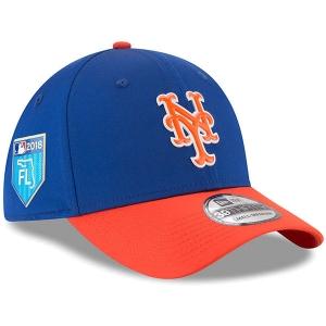 New York Mets mlb new era flex training спортивная бейсболка синяя