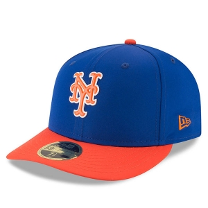 New York Mets mlb new era fitted спортивная бейсболка синяя