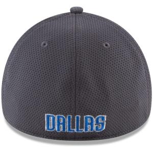 Dallas Mavericks nba new era flex-fit shadowed спортивная бейсболка серая