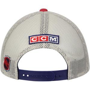 New York Rangers nhl ccm trucker хоккейная бейсболка с сеткой красная