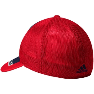 Washington Capitals nhl adidas flex-fit meshback хоккейная бейсболка с сеткой