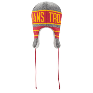 Шапка ушанка USC Trojans ncaa new era trapper зимняя спортивная