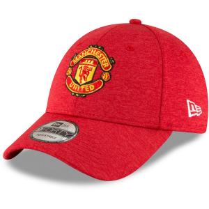 Manchester United FC new era футбольная бейсболка красная