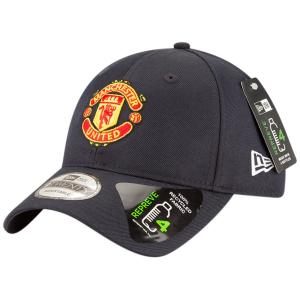 Manchester United FC new era футбольная бейсболка темно-синяя
