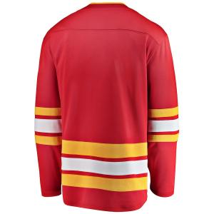 Calgary Flames nhl fanatics alternate джерси хоккейный свитер красный