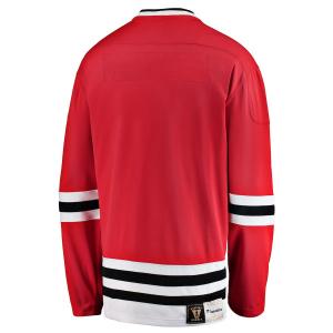 Chicago Blackhawks nhl fanatics heritage хоккейный свитер красный