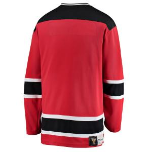 New Jersey Devils nhl fanatics heritage хоккейный свитер красный