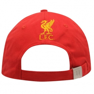 Liverpool FC warrior футбольная бейсболка красная