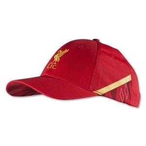 Liverpool FC warrior футбольная спортивная бейсболка красная