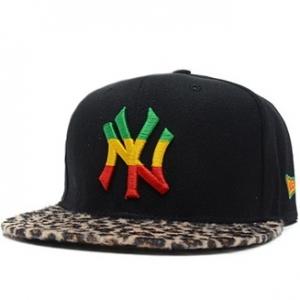 New York Yankees mlb new era snapback NY кепка с леопардовым козырьком