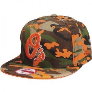 Baltimore Orioles mlb new era snapback спортивная кепка камуфляжная