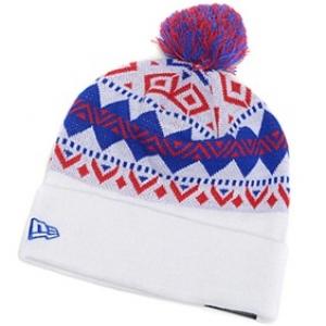 New York Giants nfl new era спортивная шапка с помпоном белая