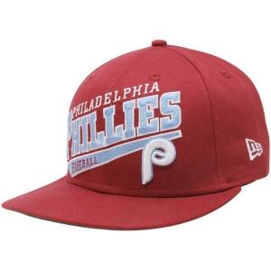 Philadelphia Phillies mlb new era snapback спортивная кепка красная