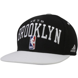 Brooklyn Nets nba adidas snapback кепка черная