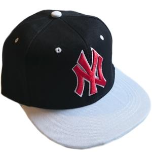 New York Yankees mlb NY snapback кепка с прямым козырьком черно-белая