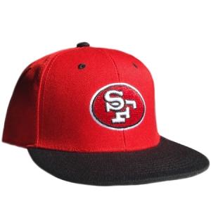 San Francisco 49ers nfl snapback спортивная кепка красная