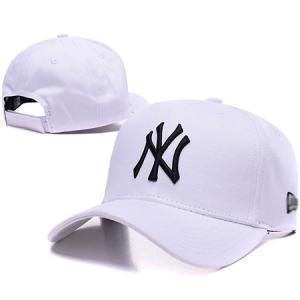 New York Yankees mlb new era NY спортивная бейсболка белая