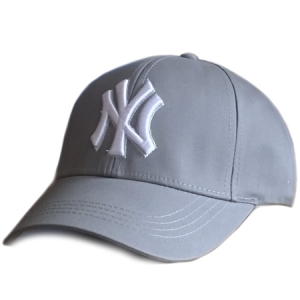 New York Yankees mlb NY спортивная бейсболка серая