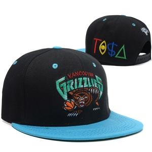 Vancouver Grizzlies nba tisa snapback спортивная кепка черная