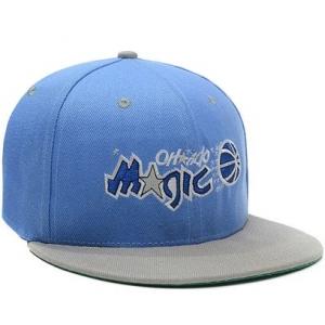 Orlando Magic nba tisa snapback спортивная кепка серо-голубая