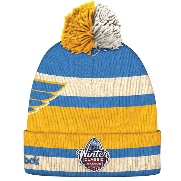 timeless design de9c1 f1dd9 St Louis Blues nhl reebok winter classic хоккейная шапка с ...