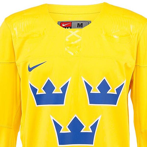 872c1ab5 Швеция nike jersey хоккейный свитер желтый