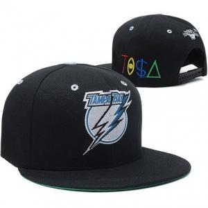 Tampa Bay Lightning nhl tisa snapback хоккейная кепка черная