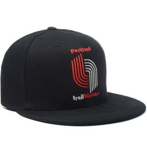 Portland Trail Blazers nba tisa snapback спортивная кепка черная
