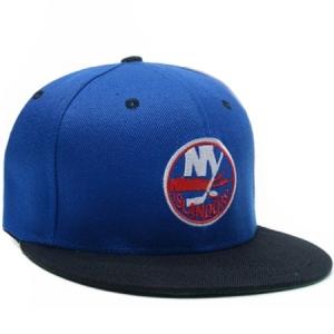 New York Islanders nhl tisa snapback хоккейная кепка синяя