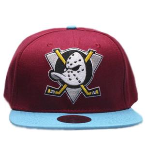 Anaheim Mighty Ducks nhl mitchell & ness snapback хоккейная кепка с прямым козырьком