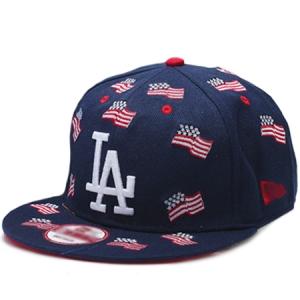 Los Angeles Dodgers mlb new era LA snapback спортивная кепка темно-синяя