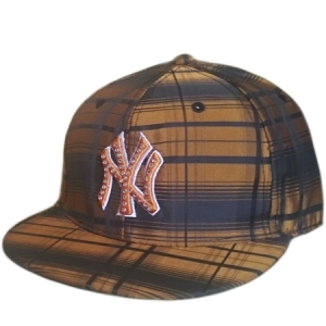 New York Yankees mlb NY fitted спортивная кепка бронзовая