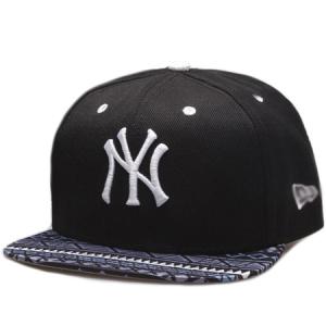 New York Yankees mlb new era NY snapback спортивная кепка черная