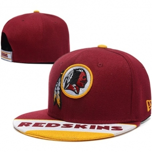 Washington Redskins nfl new era snapback спортивная кепка бордовая