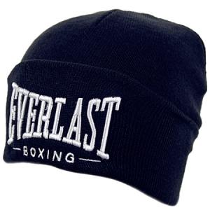 Everlast шапка зимняя с отворотом темно-синяя
