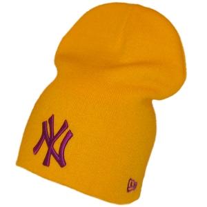 New York Yankees mlb new era NY спортивная шапка длинная желтая