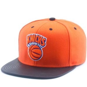 New York Knicks nba mitchell & ness snapback спортивная кепка оранжевая