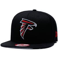 Atlanta Falcons nfl new era snapback кепка с прямым козырьком черная
