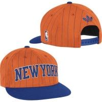 New York Knicks nba adidas originals snapback спортивная кепка оранжевая