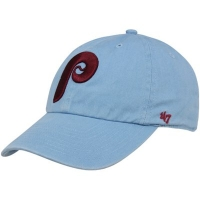Philadelphia Phillies mlb '47 brand fitted спортивная бейсболка голубая