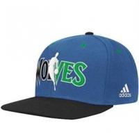 Minnesota Timberwolves nba adidas snapback спортивная кепка синяя