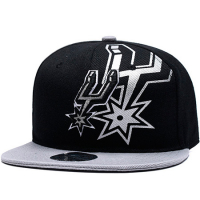 San Antonio Spurs nba mitchell & ness snapback кепка с прямым козырьком черная