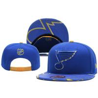 St Louis Blues nhl new era snapback хоккейная кепка с прямым козырьком синяя