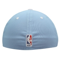 Los Angeles Clippers nba adidas flex-fit спортивная бейсболка голубая