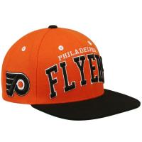 Philadelphia Flyers nhl zephyr хоккейная кепка с прямым козырьком оранжевая