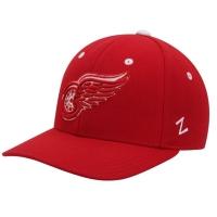 Detroit Red Wings nhl zephyr fitted хоккейная бейсболка красная